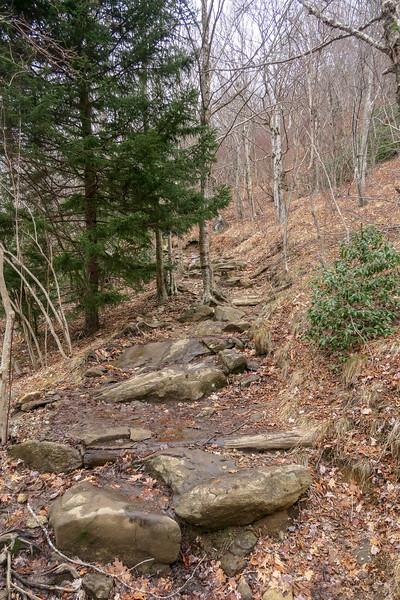 Upper Falls Trail -- 5,250'
