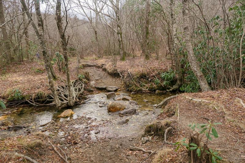 Upper Falls Trail -- 5,120'