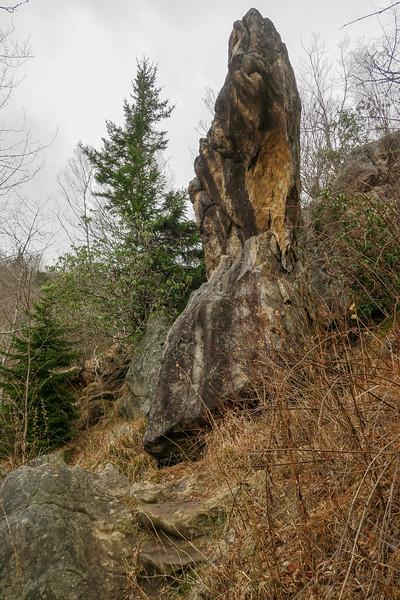 Upper Falls Trail -- 5,340'