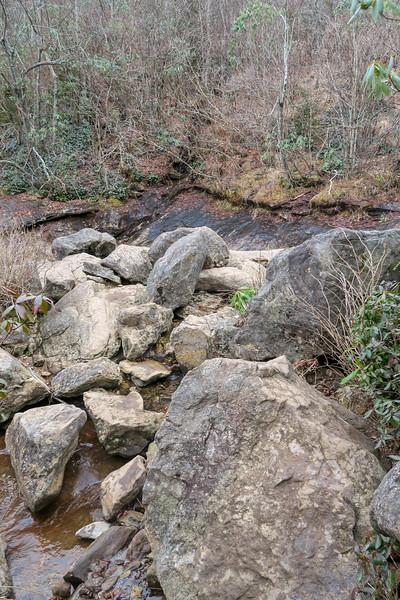 Upper Falls Trail @ Upper Falls -- 5,300'