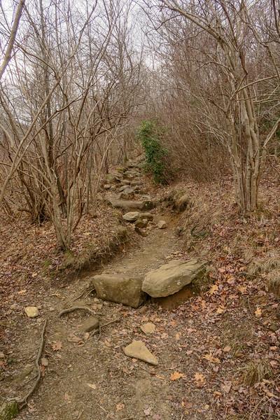 Upper Falls Trail -- 5,150'