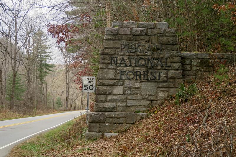 Pisgah National Forest Historic Entrance Gate