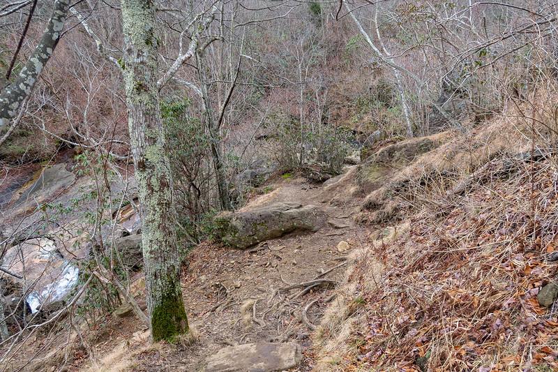 Upper Falls Trail -- 5,320'