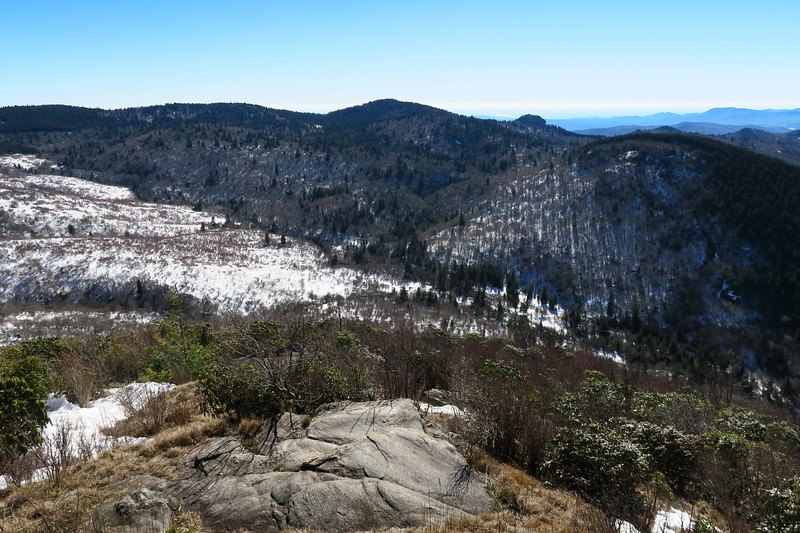 Sam Knob South Summit -- 6,050'