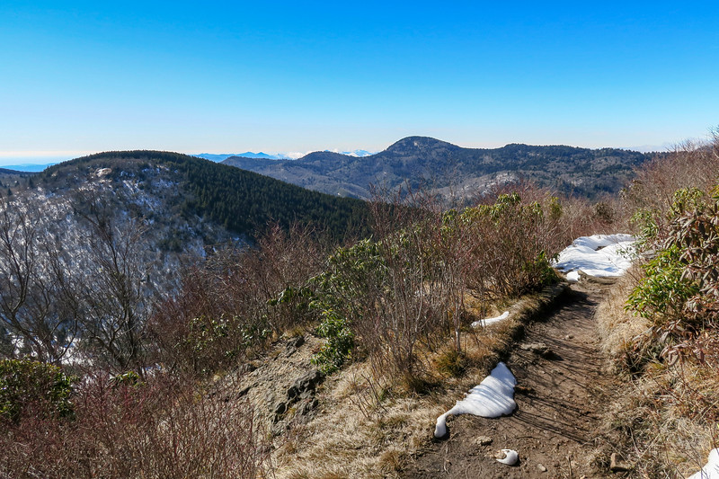 Sam Knob Summit Trail -- 5,930'