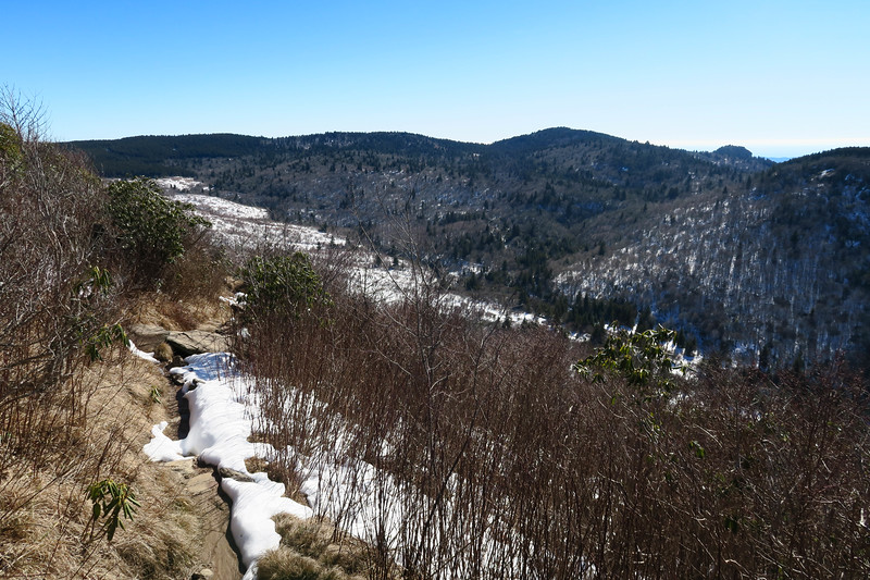 Sam Knob Summit Trail -- 5,970'