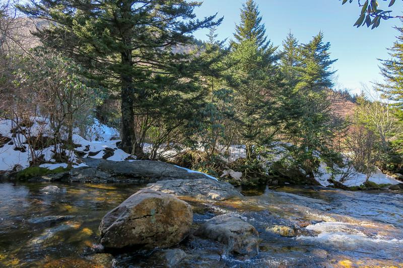 Sam Knob Trail -- 5,390'