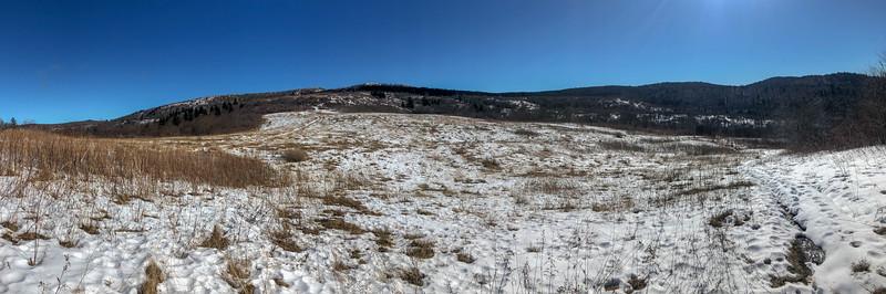 Sam Knob Trail -- 5,640'