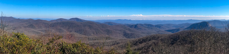 Blue Ridge Parkway - Cherry Cove Overlook -- 4,327'