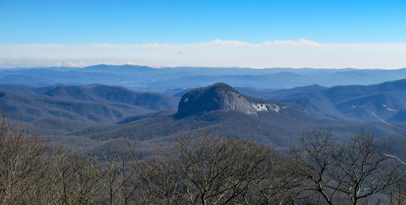 Blue Ridge Parkway - Looking Glass Rock Overlook