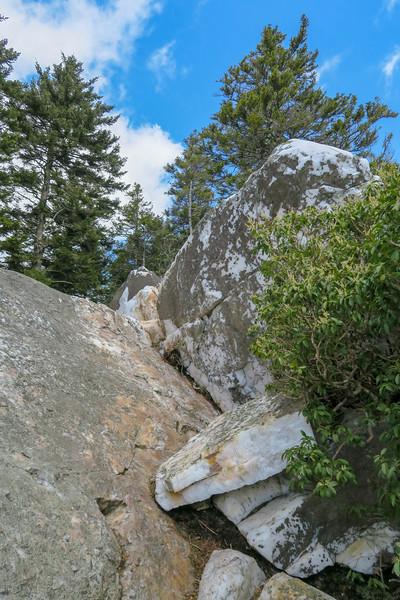 Shining Rock -- 5,880'