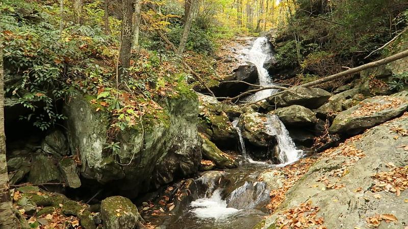 Shuck Ridge Creek Falls - 3,520'