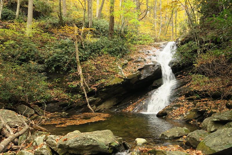 Shuck Ridge Creek Falls - 3,540'
