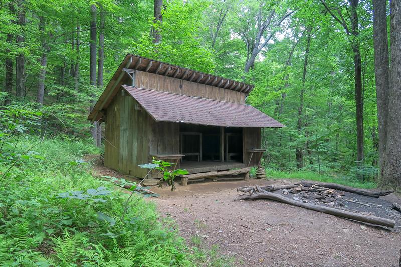 Buckhorn Gap Shelter -- 3,650'