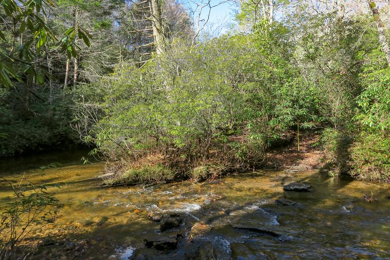 Gauging Station Trail @ Thompson Creek -- 3,150'