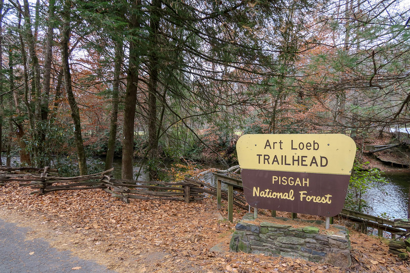 Art Loeb Trailhead (Davidson River Campground) -- 2,150'