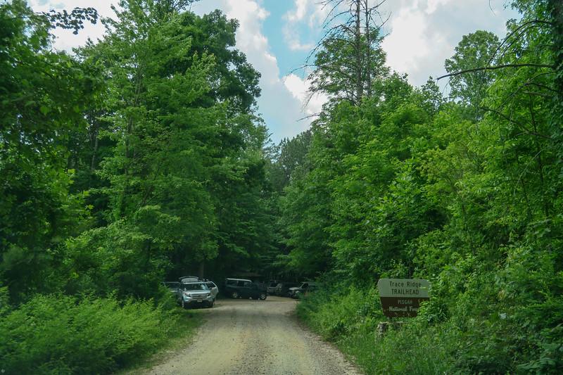 Trace Ridge Trailhead -- 2,540'