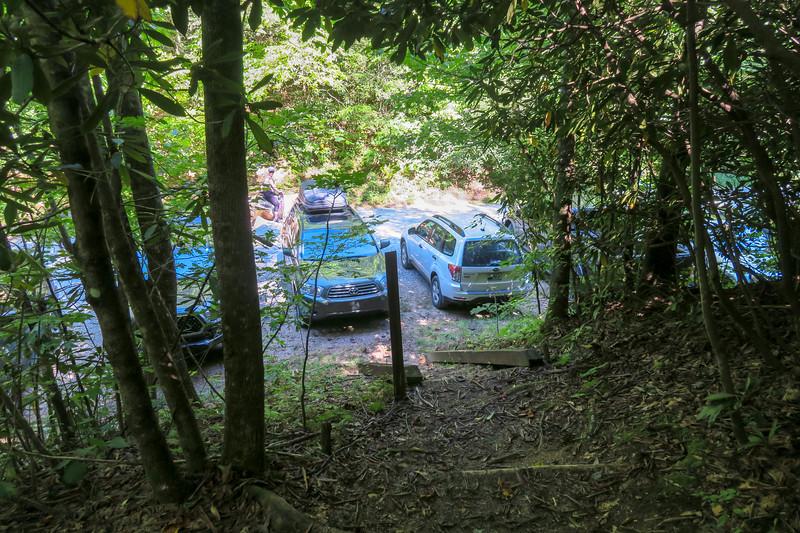 Turkeypen Gap Trail @ Turkey Pen Trailhead -- 2,660'