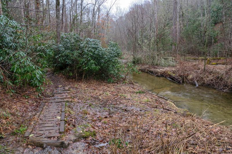 Avery Creek Trail -- 2,450'