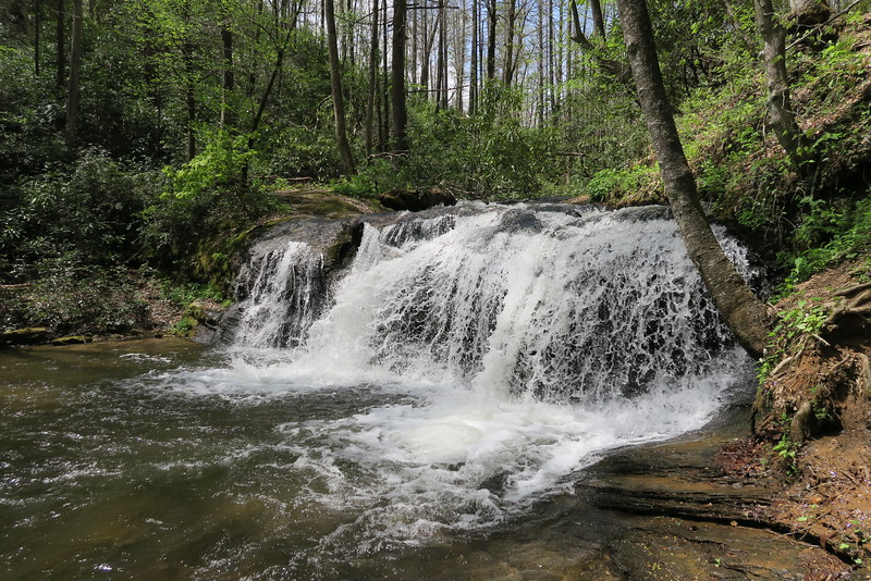 Waterfall on Avery Creek