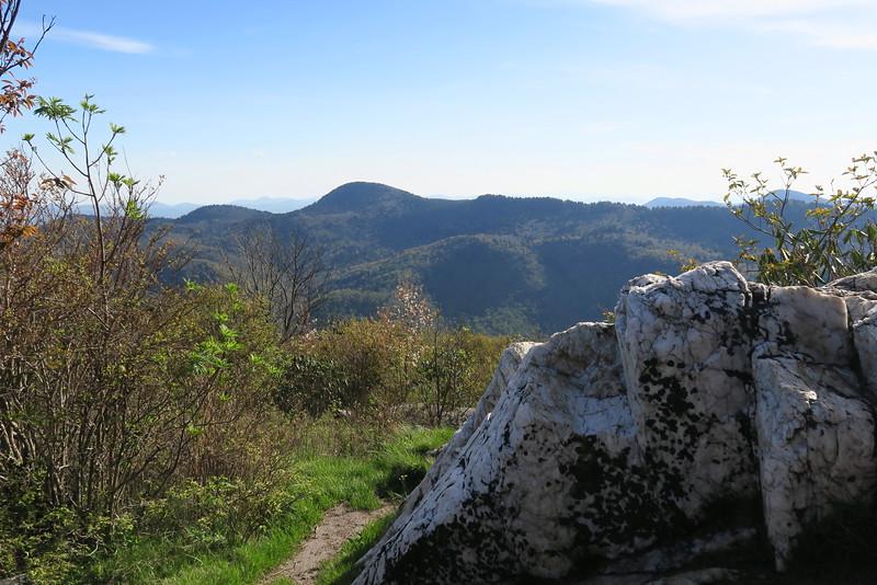 Sam Knob Summit Trail - 6,040'