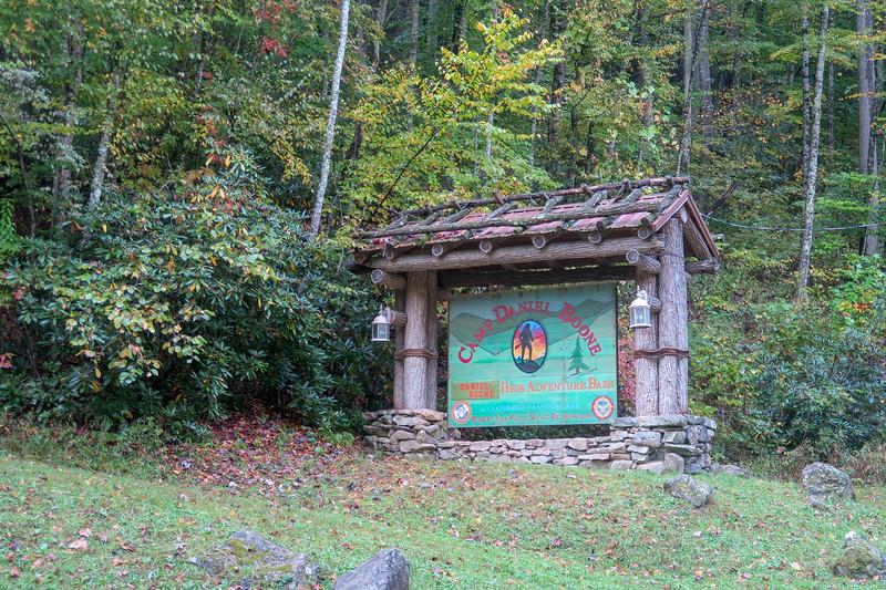 Camp Daniel Boone -- 3,200'