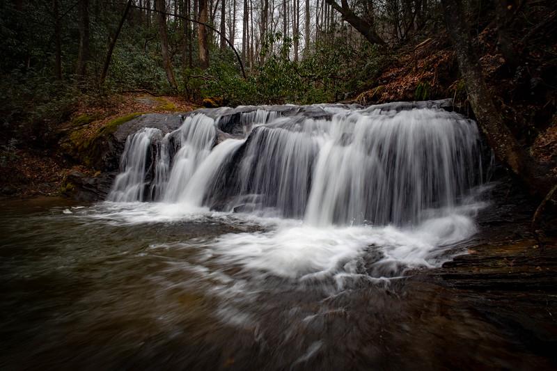 Avery Creek Falls -- 2,500'