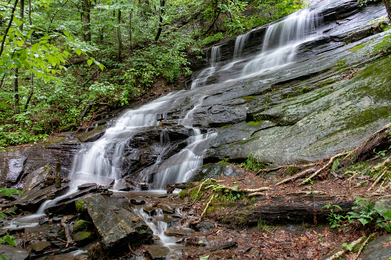 Lower Waterfall on Barnett Branch -- 3,480'