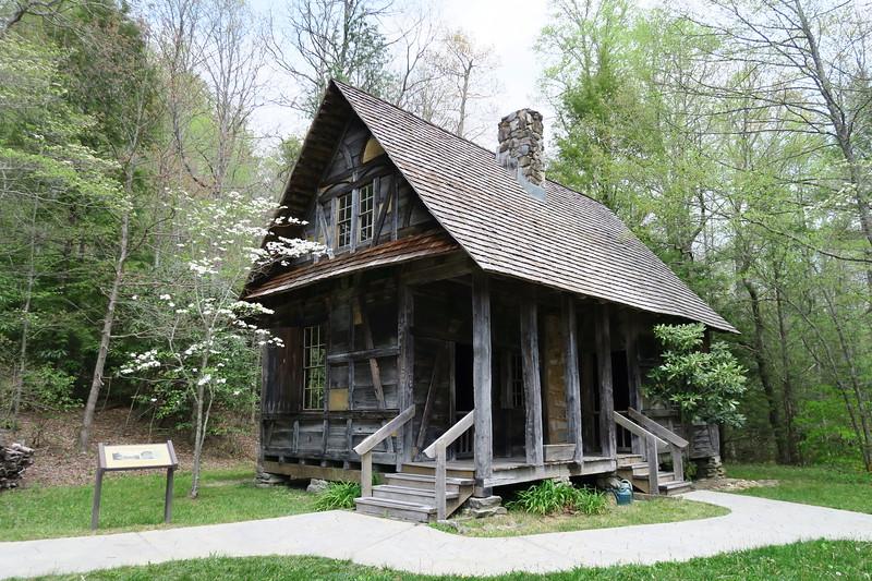 Biltmore Campus Trail -- Black Forest Lodge -- 3,290'