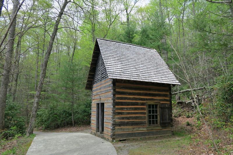 Biltmore Campus Trail -- Schenck's Office -- 3,310'