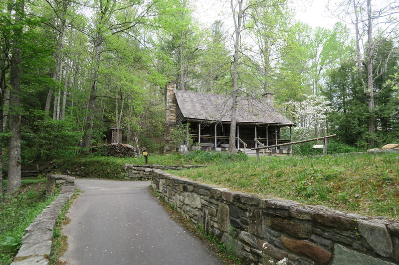 Biltmore Campus Trail -- Ranger's Dwelling -- 3,290'