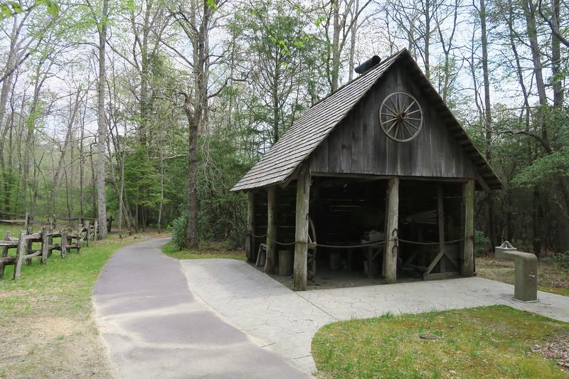 Biltmore Campus Trail -- Blacksmith Shop -- 3,270'