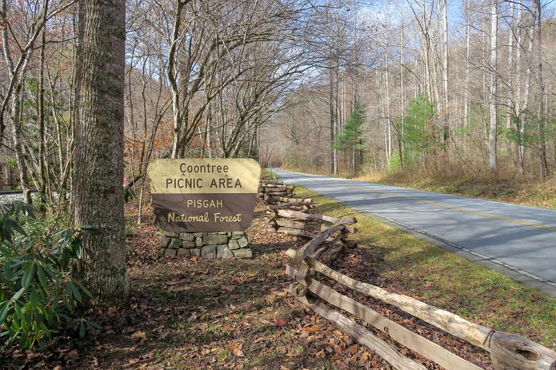 Coontree Picnic Area Trailhead -- 2,250'