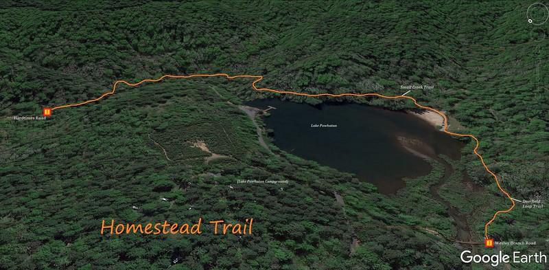 Homestead Trail Map