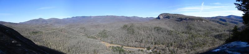 John Rock Cliffs -- 3,000'