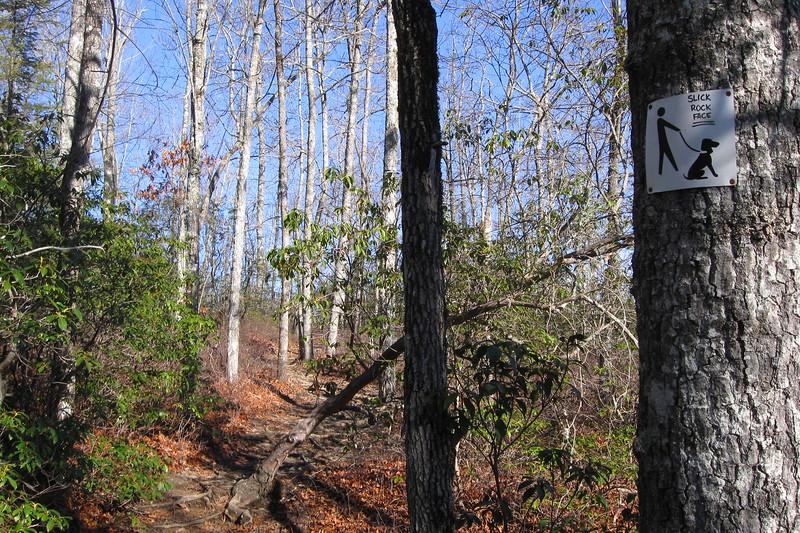 John Rock Trail -- 2,920'
