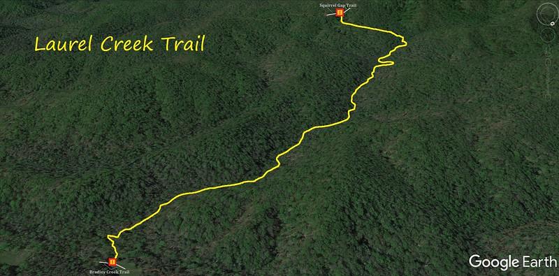 Laurel Creek Trail Map
