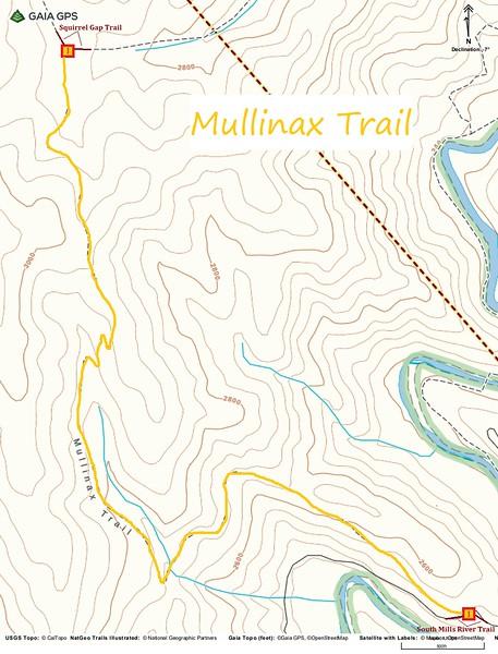 Mullinax Trail Map