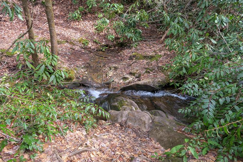 Pilot Cove-Slate Rock Trail -- 2,940'