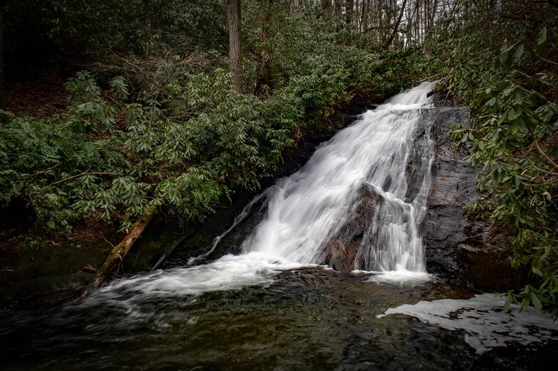 Slate Rock Creek Falls -- 2,980'