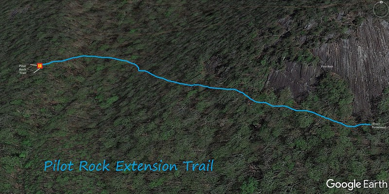 Pilot Rock Extension Trail Map