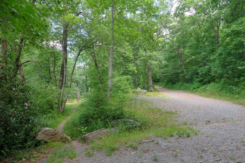 Wolf Ford Camp Trailhead (F.R. 476) -- 3,160'