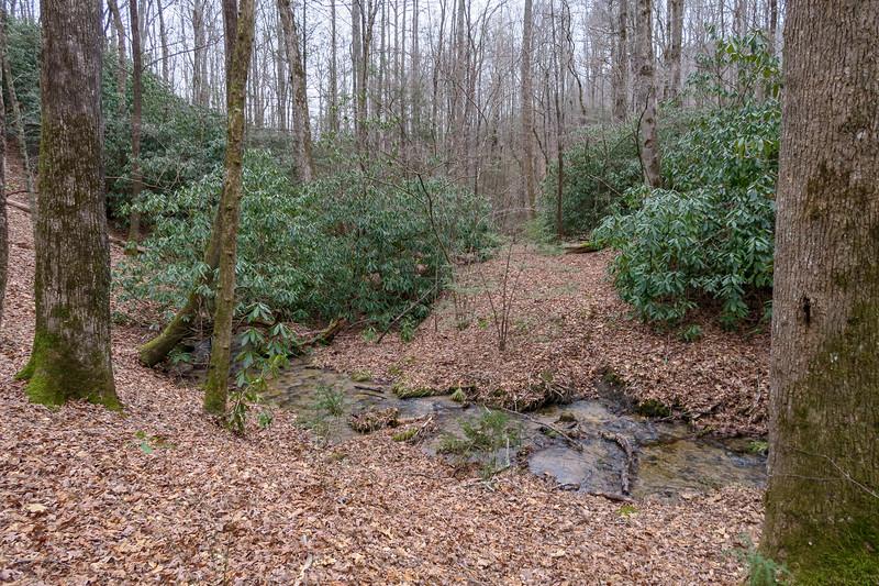 Poundingmill Trail (Crossing #13) -- 2,780'