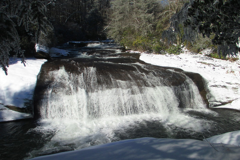Turtleback Falls -- 2,780'