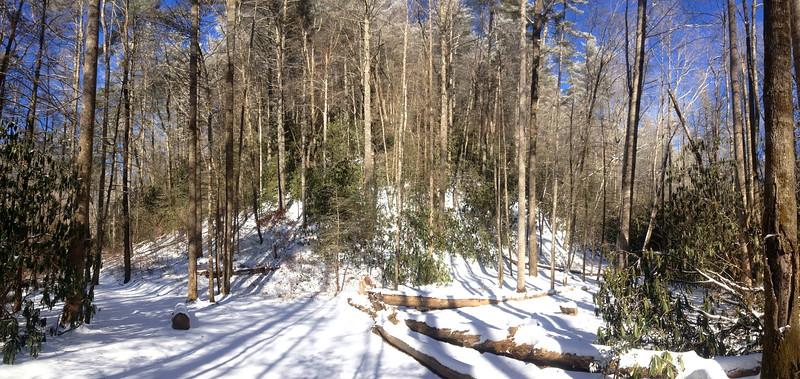 Rainbow Falls Trail -- 2,500'