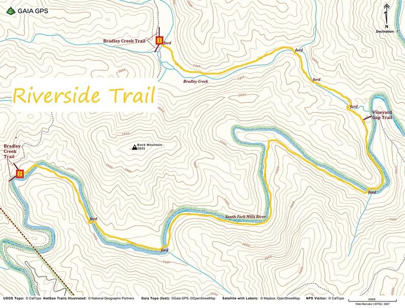 Riverside Trail Map