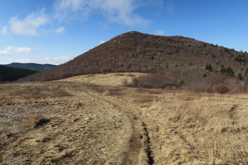 Sam Knob Trail -- 5,680'