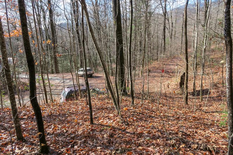 Seniard Ridge Trail @ F.R. 475B -- 3,220'