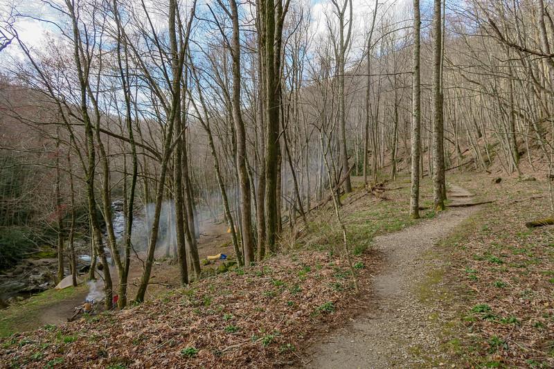 Shining Creek Trail -- 3,380'