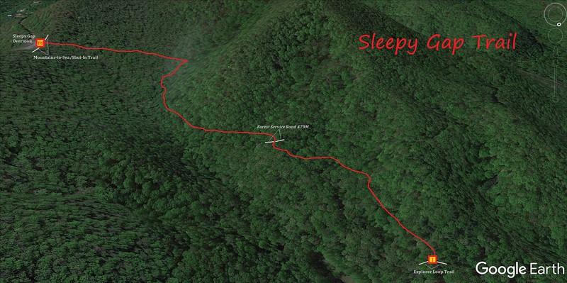 Sleepy Gap Trail Map